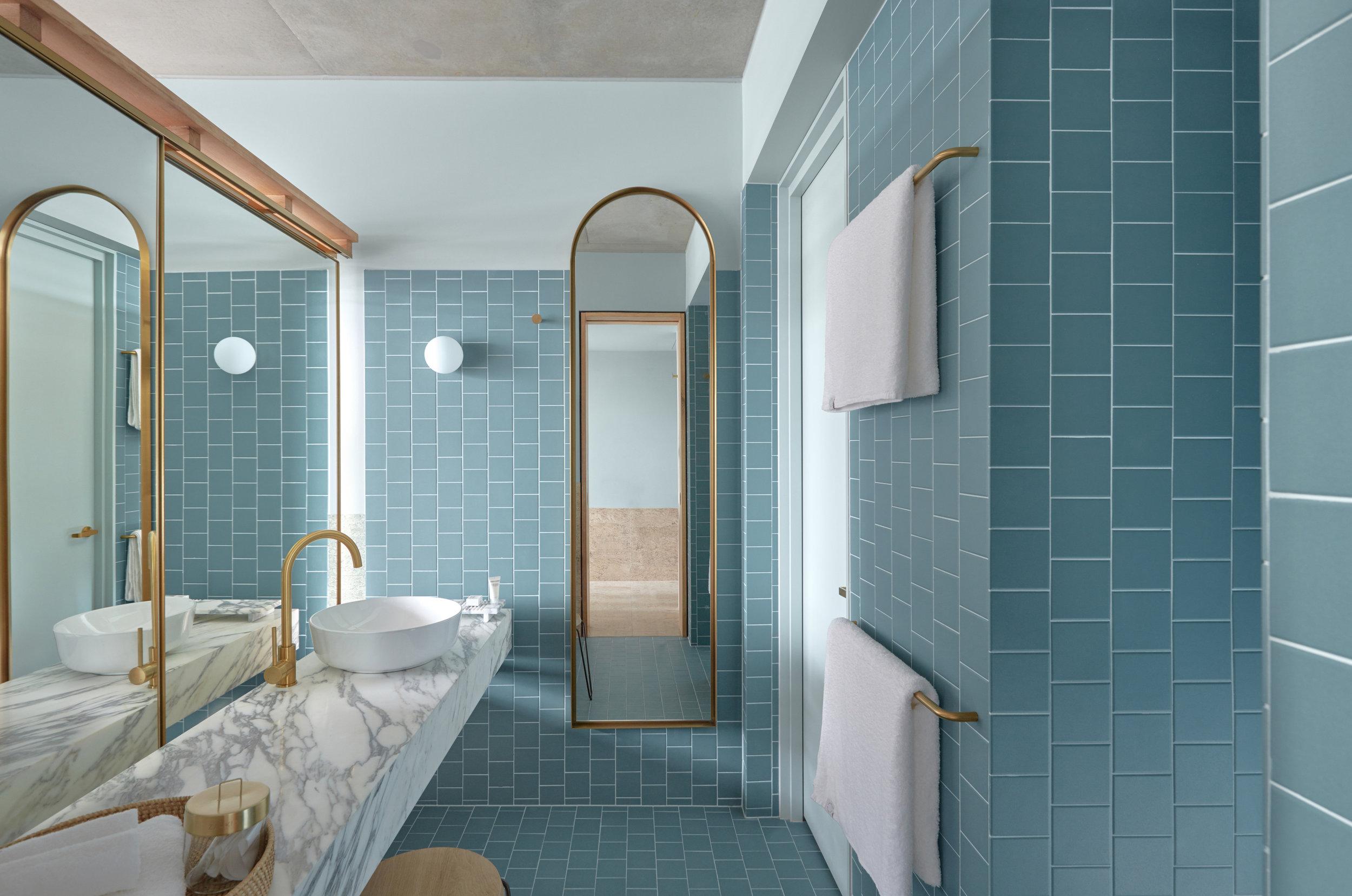 The Calile Hotel bathroom