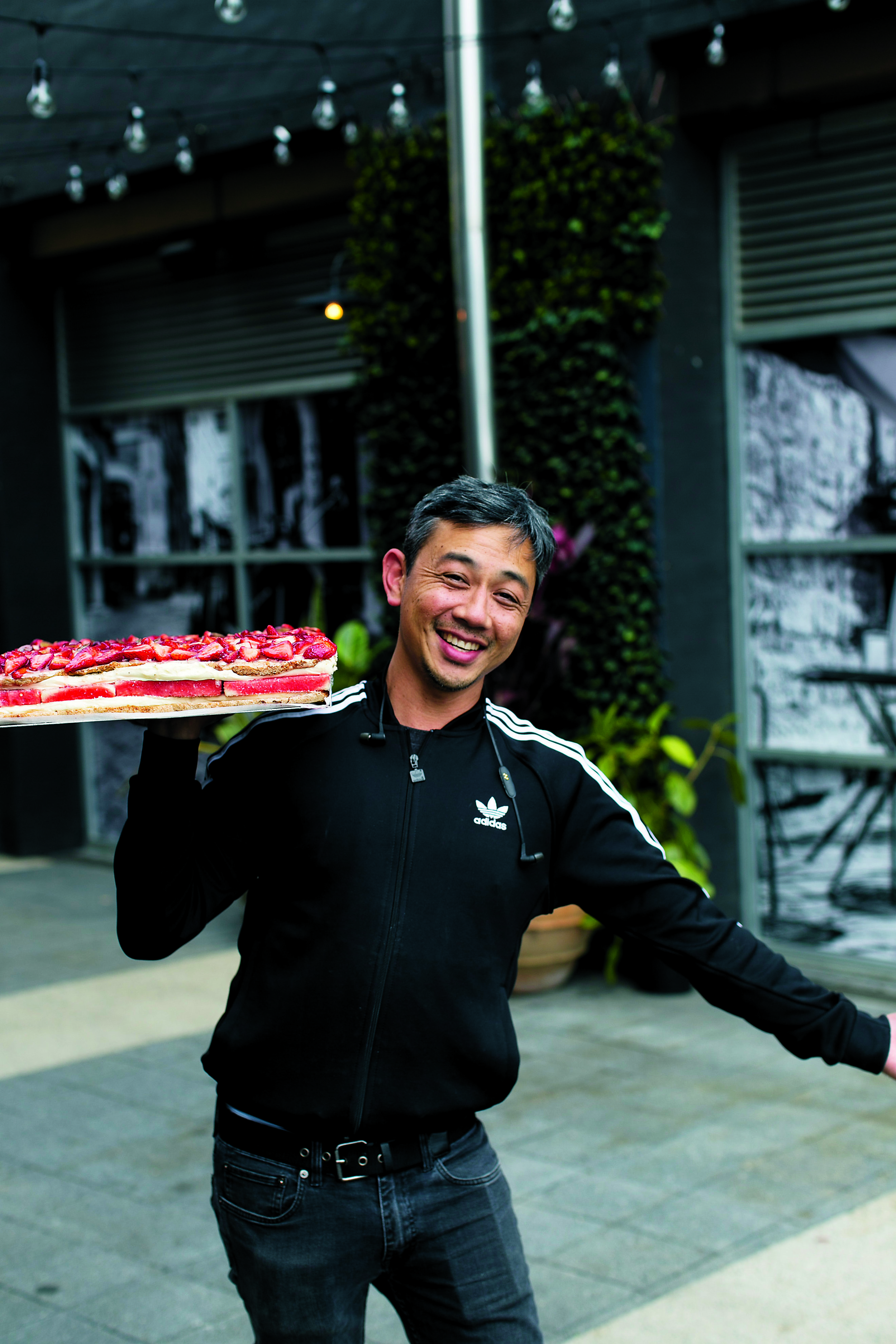 Christopher Thé, owner of Black Star Pastry