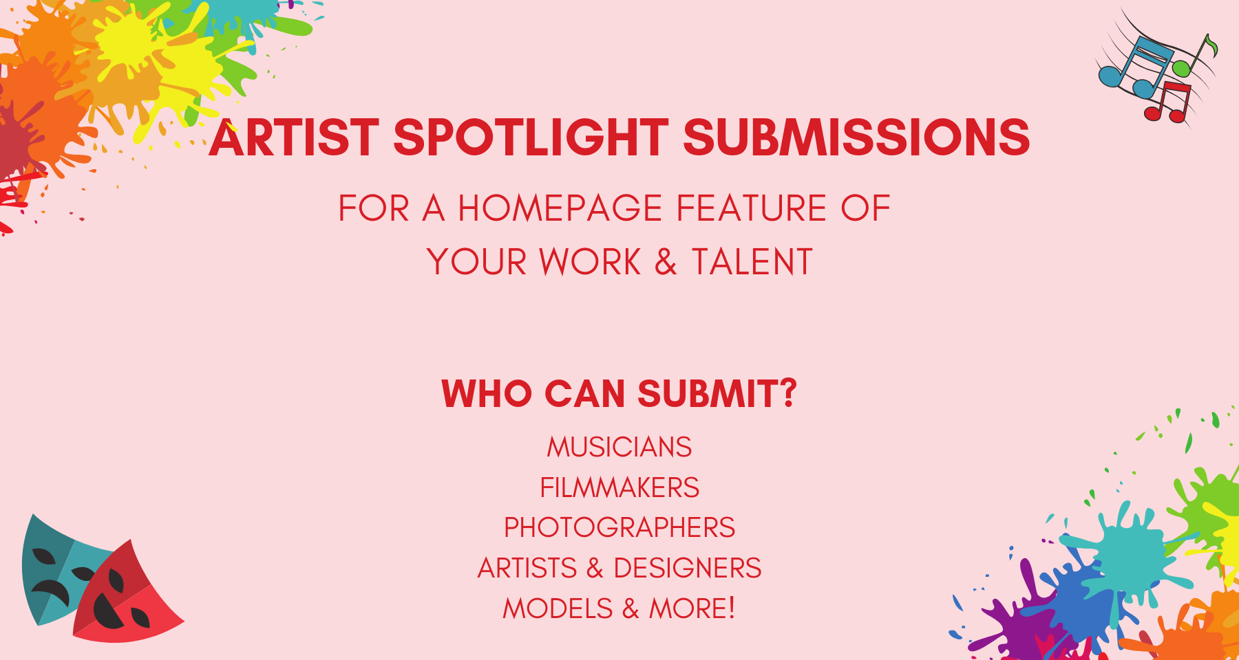 artist-submissions-acting-singing-music-photographers