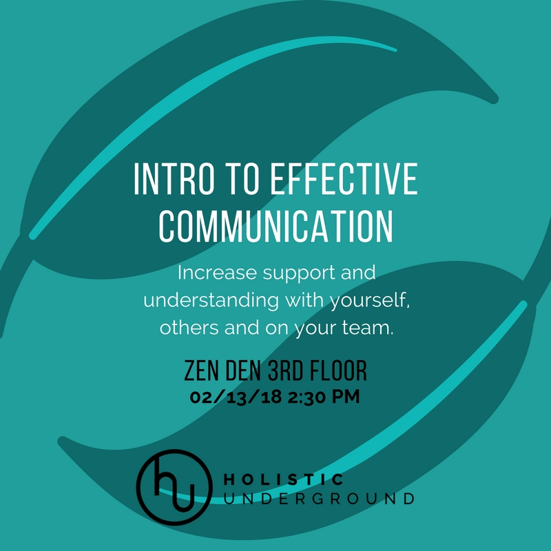 Communication Workshop Series
