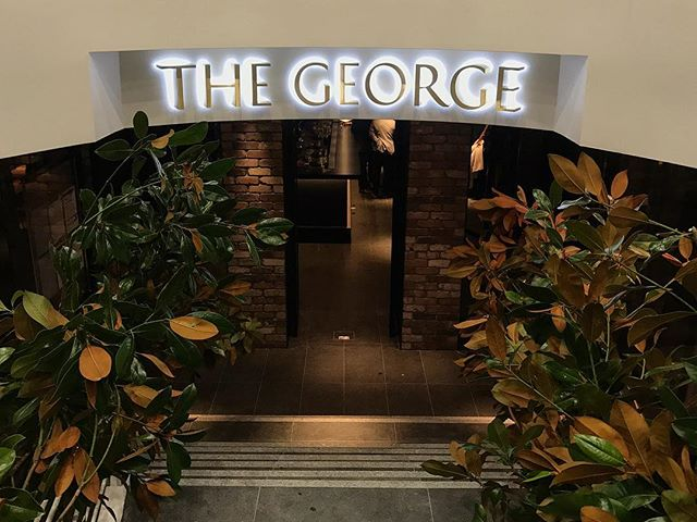 Loved attending the launch of @thegeorgeoncollins last week. Refurb and menu are ON POINT 🙌🏼 Do yourself a favour and visit it. Today (or tonight for a sneaky bevvie or two) #theideaslibrary