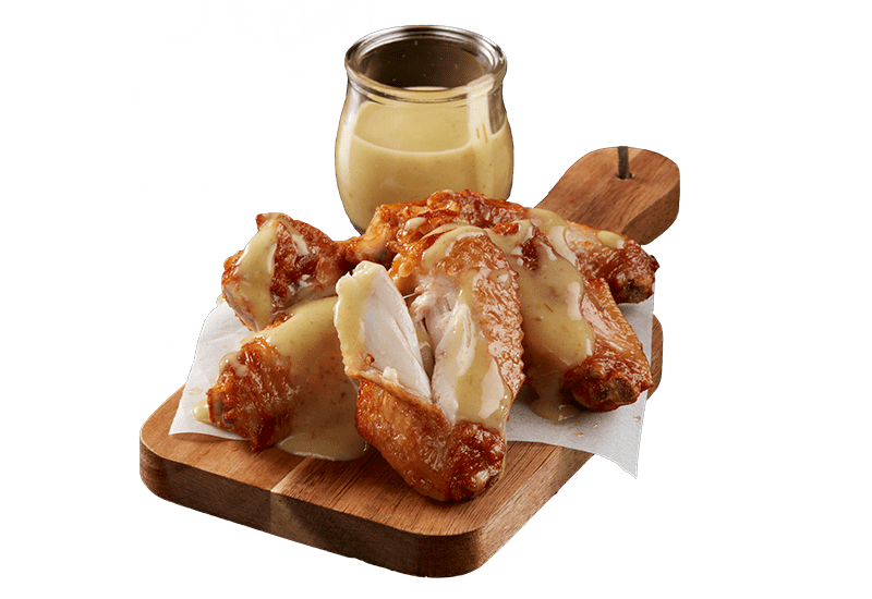 ROAST CHICKEN WINGS WITH DAMN FINE JALAPEÑO LIME SAUCE -