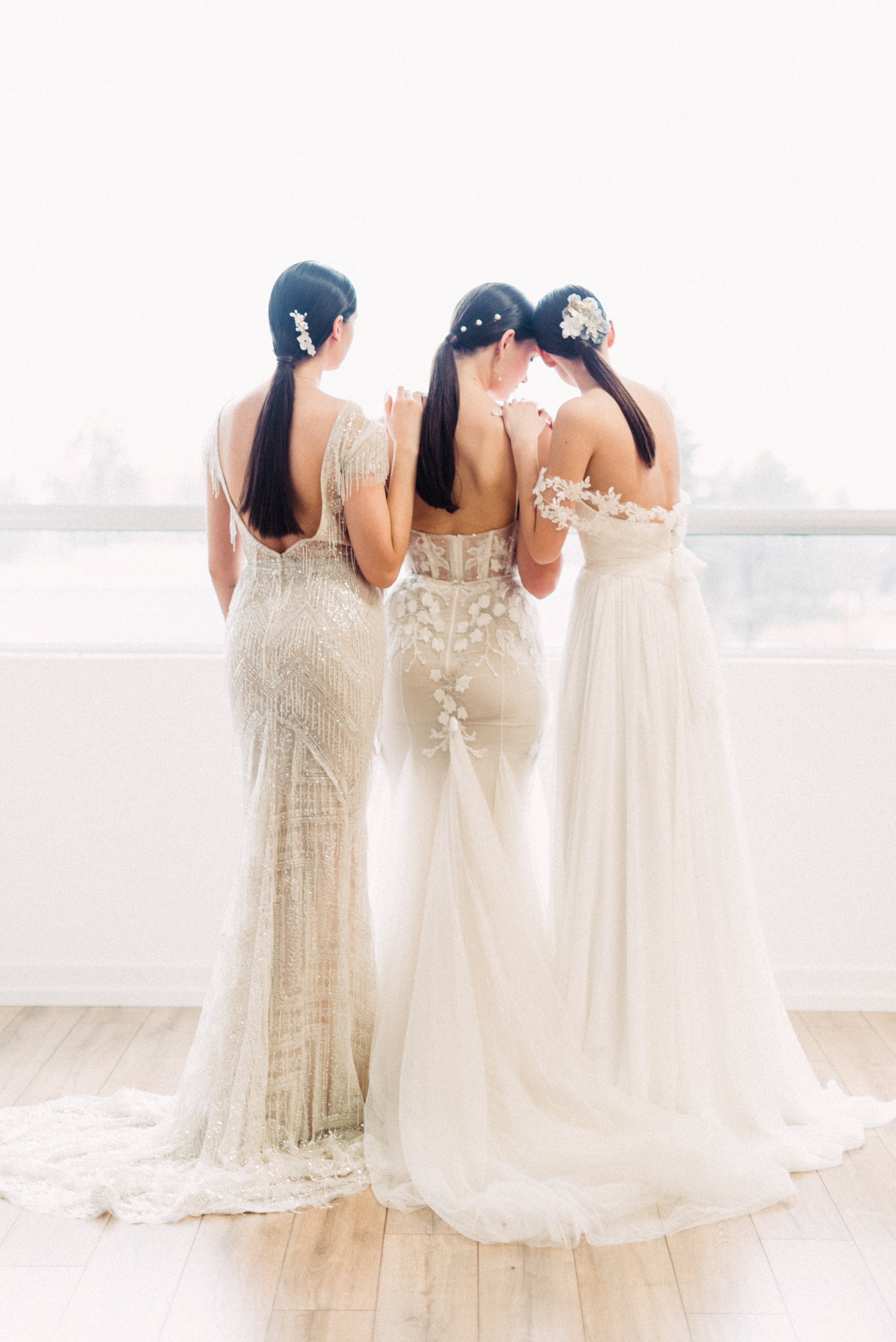 (Left to right) BERTA Privée style P08, BERTA Privée style P02, and Tatyana Merenyuk style Marlene