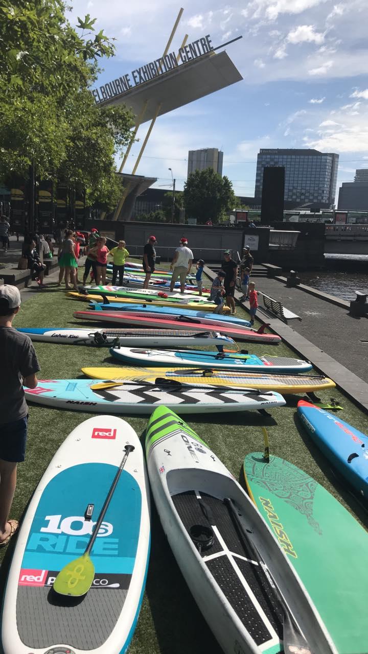 Melbourne Club Social Paddle at Exhibition Centre