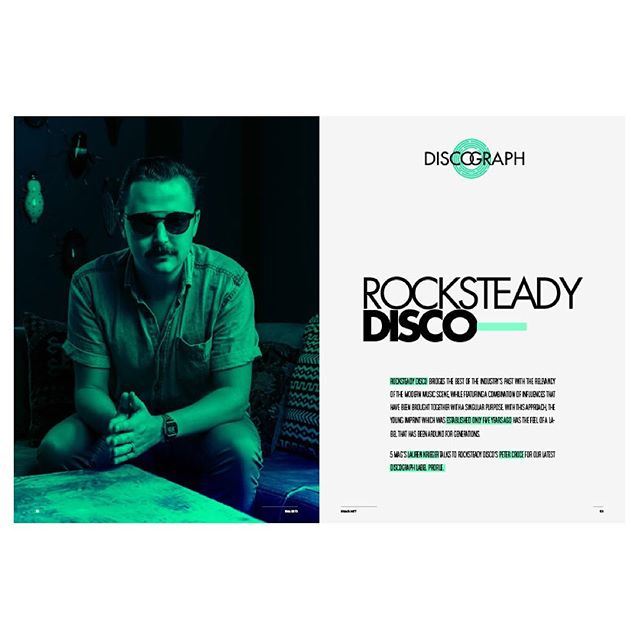 Past #MidnightTherapy guest @petercroce_rsd was recently featured in @5.magazine , a Chicago-based publication focused on house music! Head to their site to check it out ⚡️