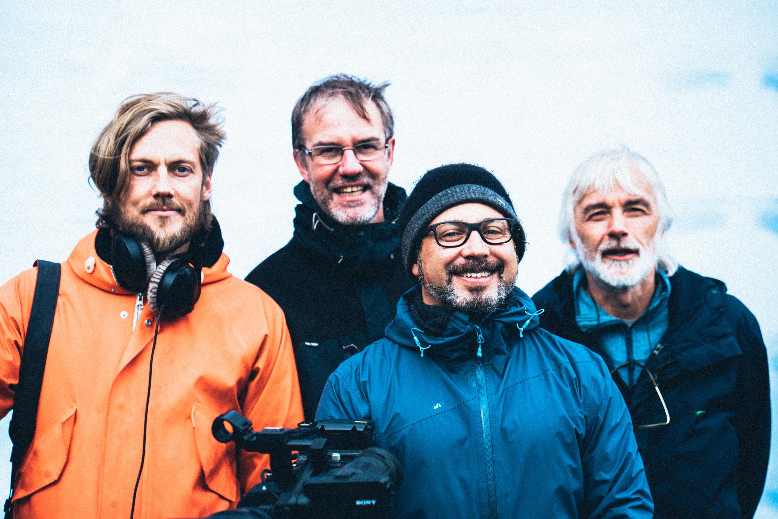 Jonas Jessen, Karl Emil Rikardsen, Viggo Knudsen, Knut Skoglund (Foto: Martin Losvik)