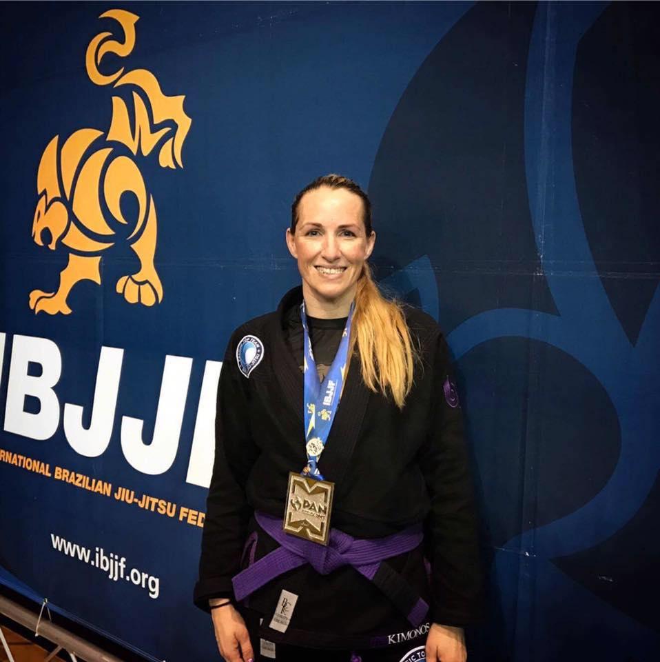 Brazilian Jiu Jitsu Pan Am Champion Kimberly Bowser