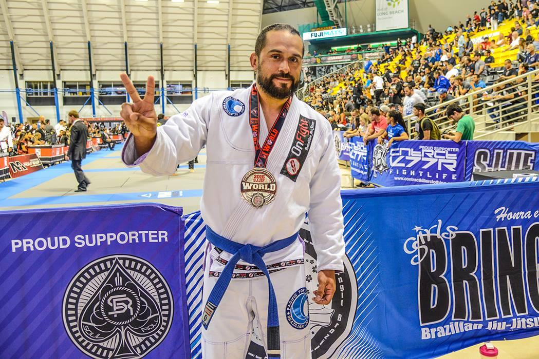 Coach Pablo Brazilian Jiu Jitsu world champion