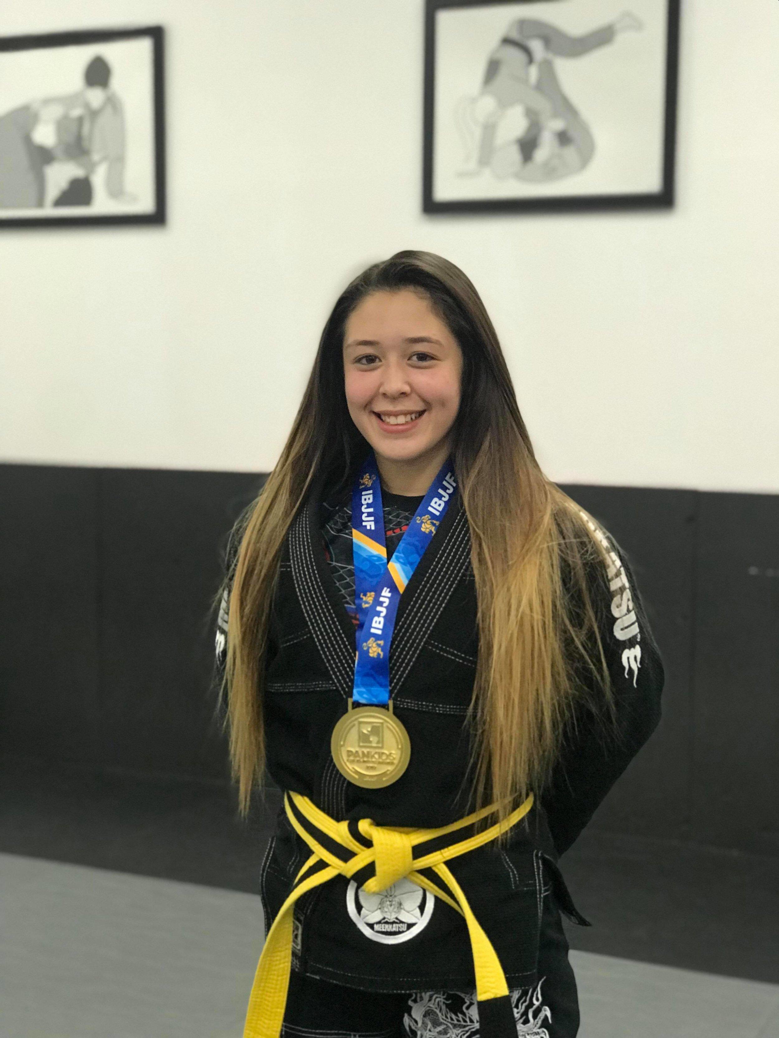 Pan Am jiu jitsu champion