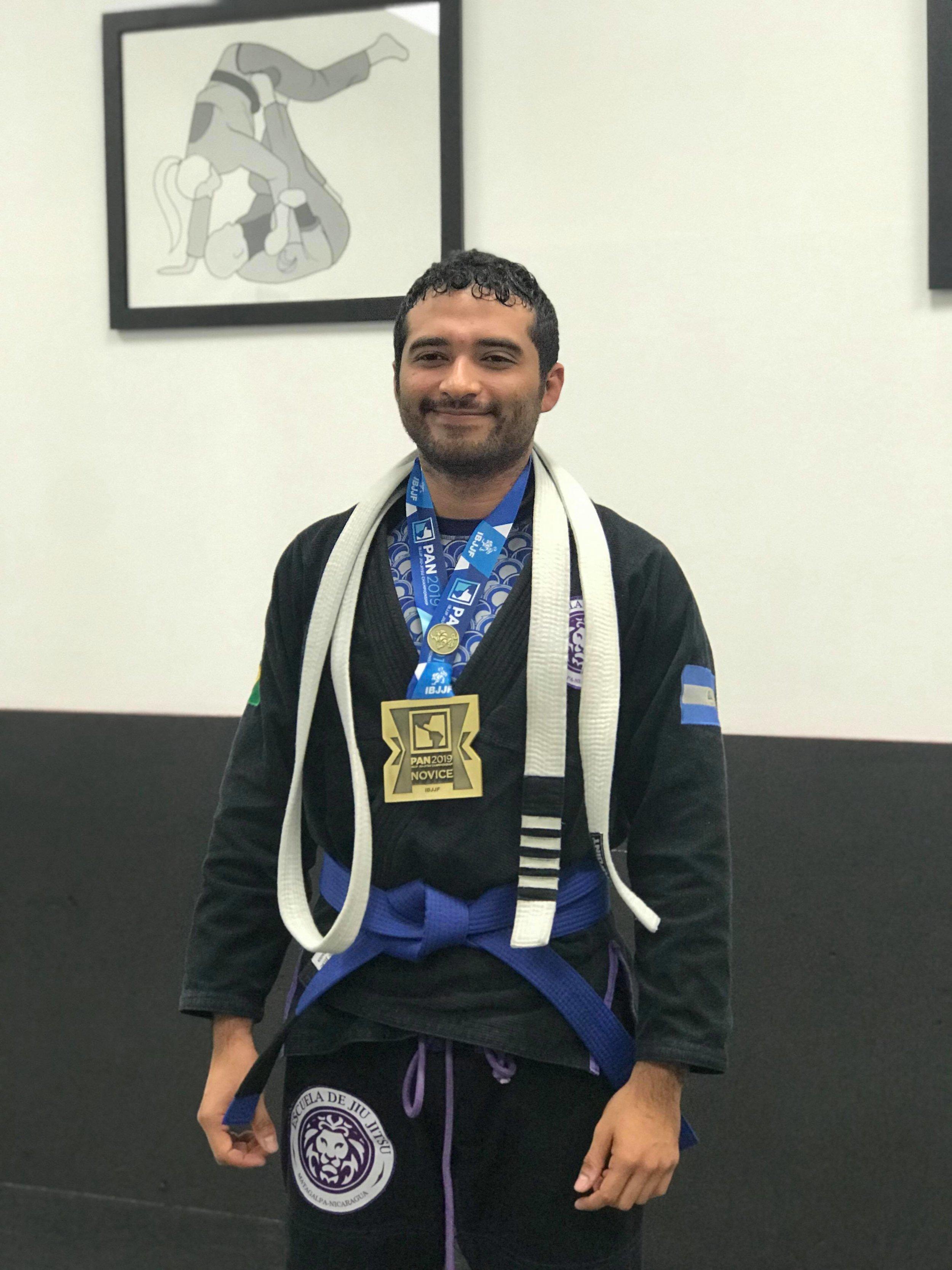 Brazilian Jiu Jitsu Pan Am Champion