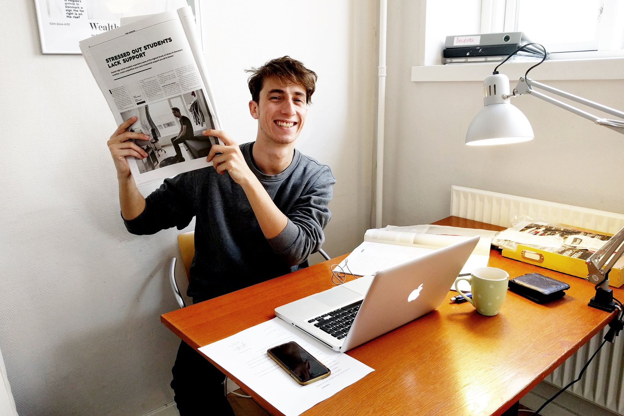 Gabriele Dellisanti, one of The Murmur's editorial interns.