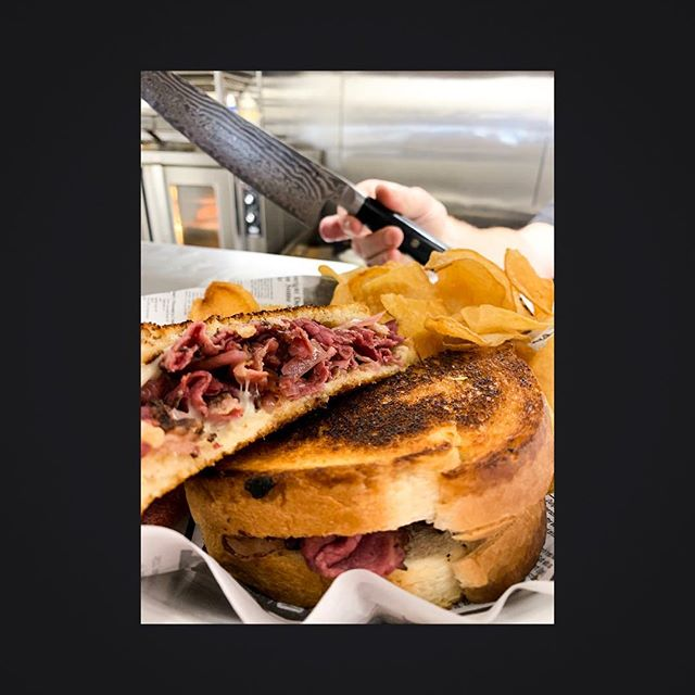 It's Saturday! Come and grab a grilled cheese of the day! You know you want to!