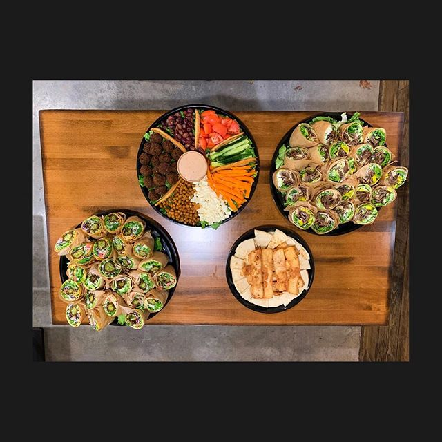Hey! Did you know that we cater?? Call us or come in and ask us how! We'd love to hear from you!!