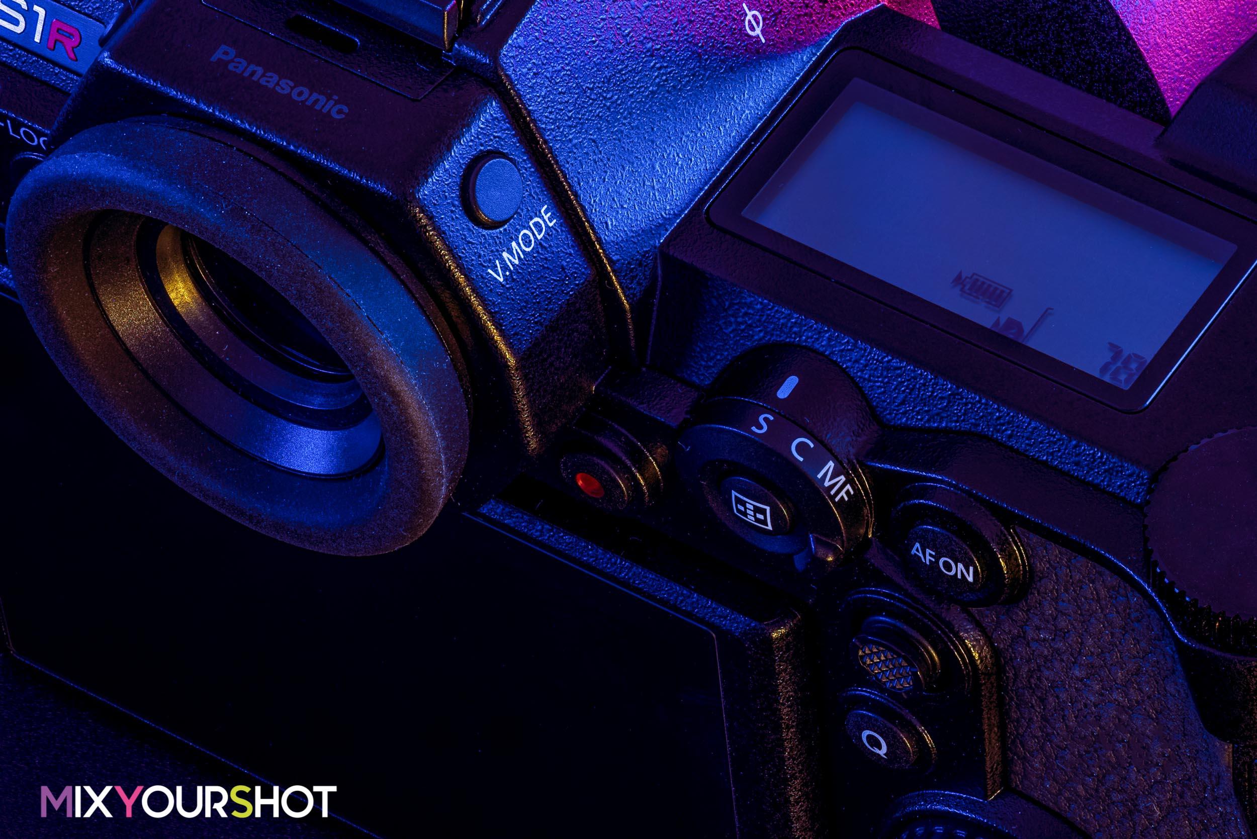 Panasonic Lumix S1R autofocus switch