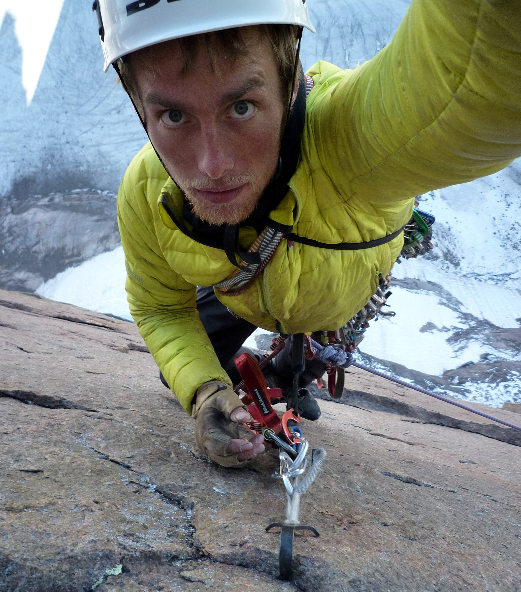 LEO HOULDING - Climber and Adventurer.Based in the Lake District, UK, Leo is one of Britain's top climbers and among the best in the world. He is a veteran of a score of epic ascents, including Everest, but specialises in free climbing the most technical peaks and biggest walls in the world. Leo led a 3-man team across Antarctica by sled and by snow-kite and completed the first ascent of Spectre, the highest peak in the Gothic Mountains.