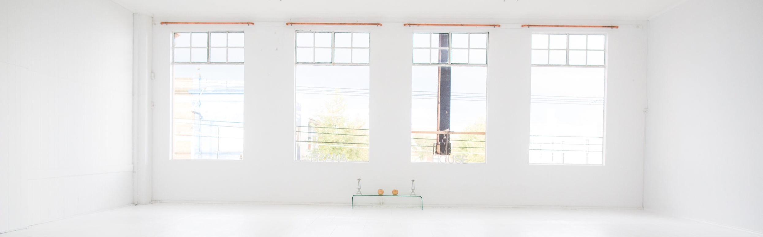 - train in our stunning light filled studios
