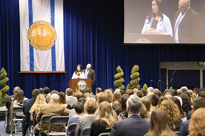 Pepperdine Remembers Alaina Housley - Photos by Milan LoiaconoAlaina Housley's family, friends and the greater Pepperdine community gathered Wednesday morning to honor her memory, grieve and celebrate Housley's life.