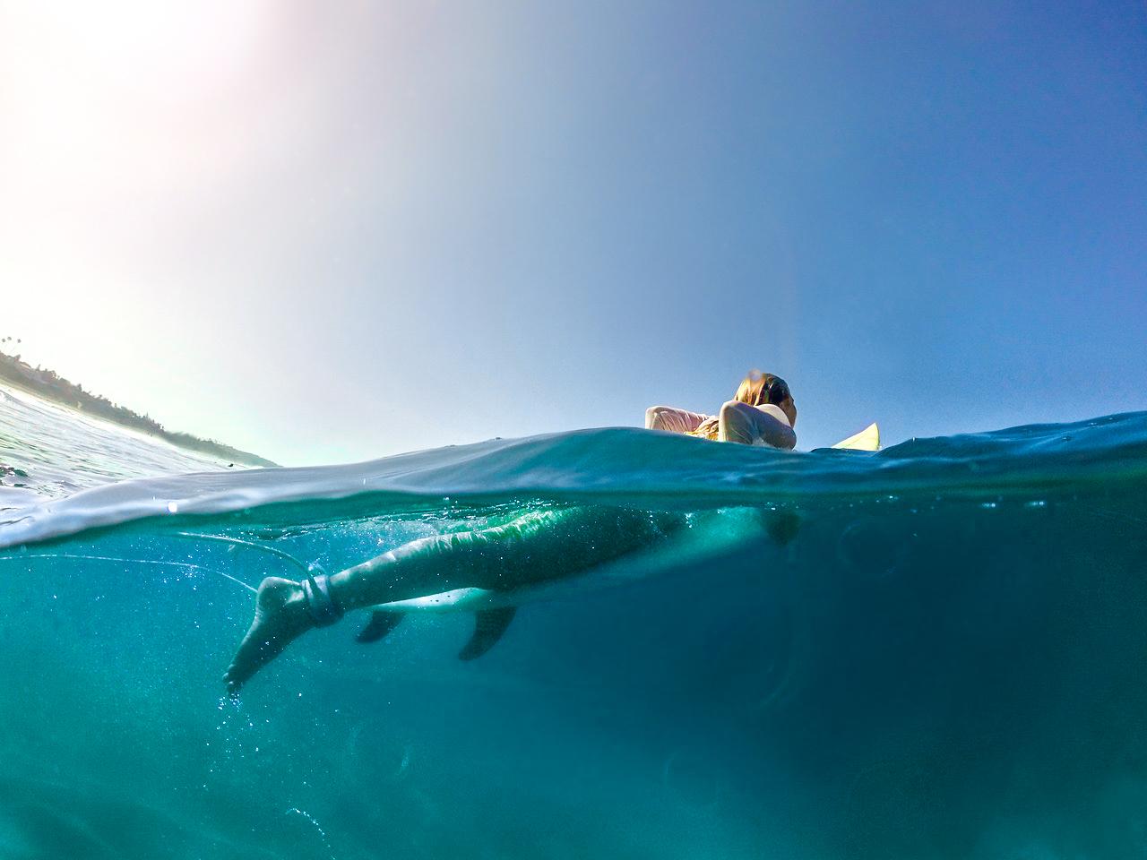 Surfing - Sierra Perry