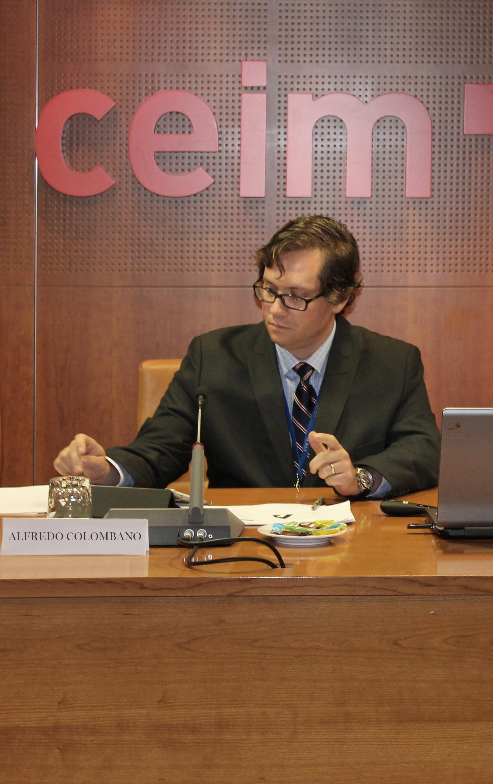 En la intervención ante la CEIM del estudio sobre el impacto en Pymes de los incentivos a la I+D+i en la comunidad de Madrid -