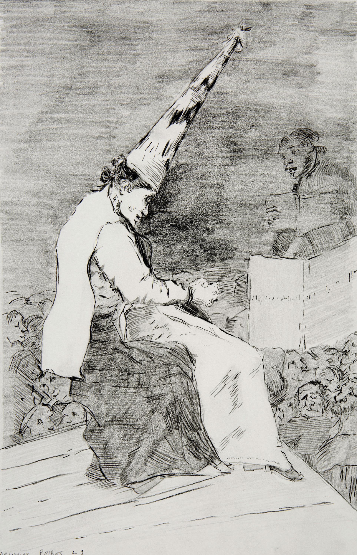 2015 - Study after 'Los Caprichos,' 1797, Francisco de Goya