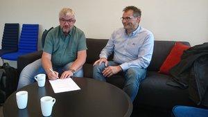 Steinkjer Regnskap vokser. Karl Jørgen Aanerud blir ny medarbeider fra høsten.