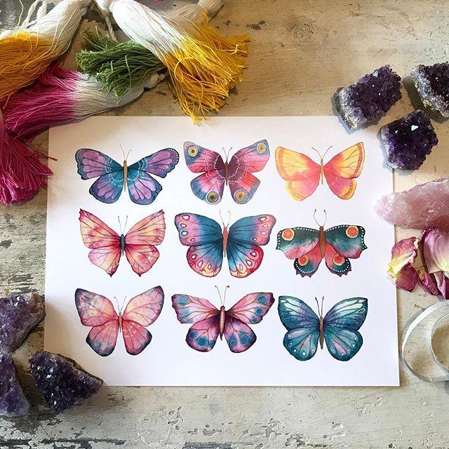 Make More Mistakes, Painting with Melanie April for Kellee Wynne Studios Color Crush creative Blog 2.jpg