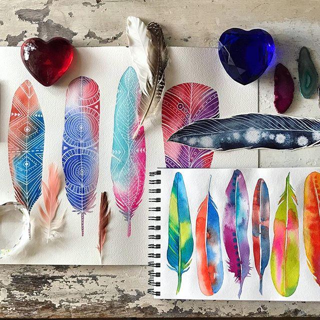 Make More Mistakes, Painting with Melanie April for Kellee Wynne Studios Color Crush creative Blog 8.jpg