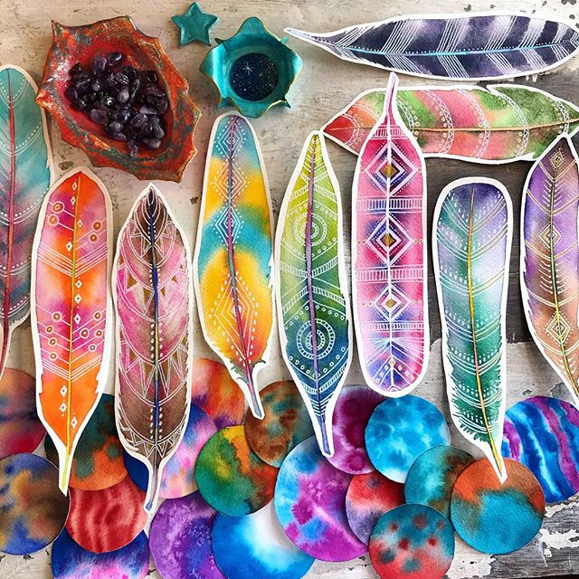 Make More Mistakes, Painting with Melanie April for Kellee Wynne Studios Color Crush creative Blog 9.jpg