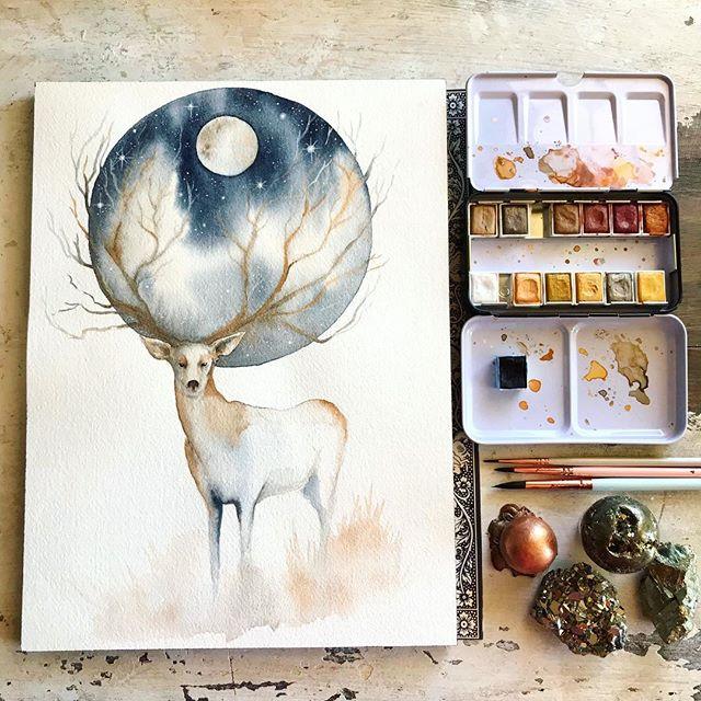 Make More Mistakes, Painting with Melanie April for Kellee Wynne Studios Color Crush creative Blog 11.jpg