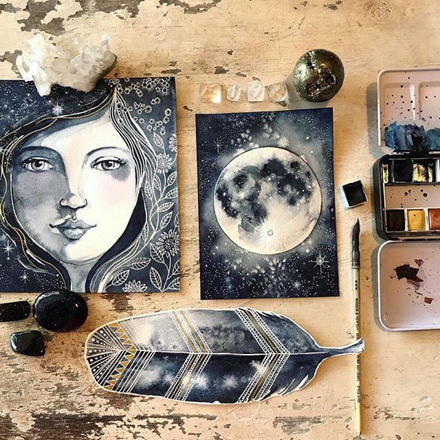 Make More Mistakes, Painting with Melanie April for Kellee Wynne Studios Color Crush creative Blog 17.jpg