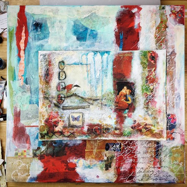 Show Your ART painting with laly Mille for Kellee Wynne Studios TrueColors Art Program 24.jpg