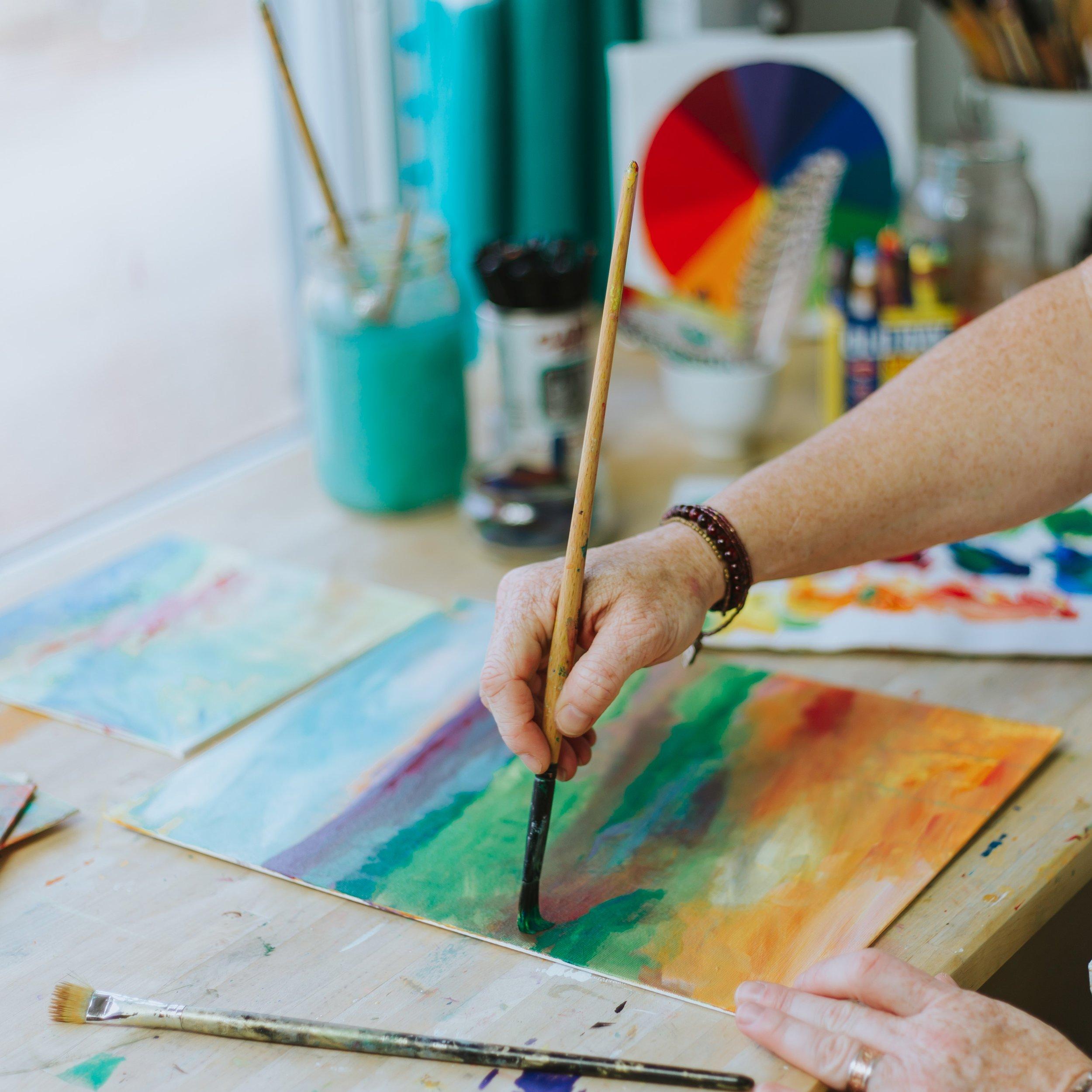 True Colors Art Program with Kellee Wynne Studios in the studio painting 2 (2).jpg