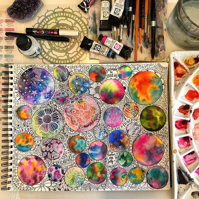 Make More Mistakes, Painting with Melanie April for Kellee Wynne Studios Color Crush creative Blog 3.jpg