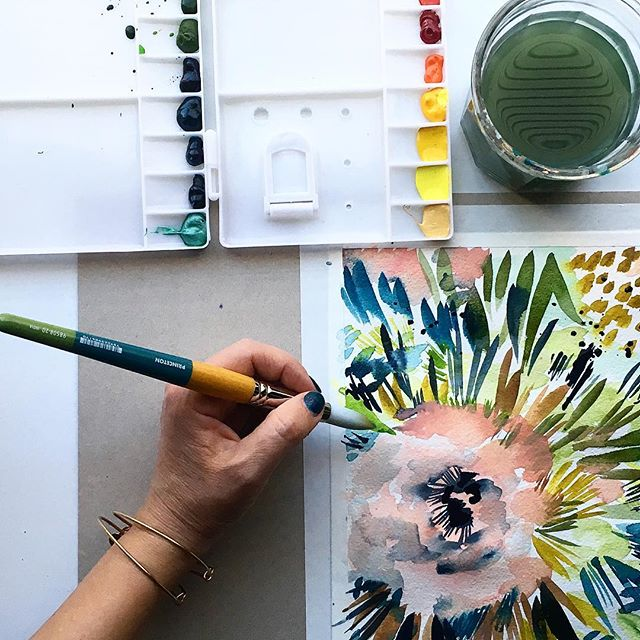 We are All Creative Beings, Painting with Kara  Aina for Kellee Wynne Studios and Color Crush Creative 6.jpg