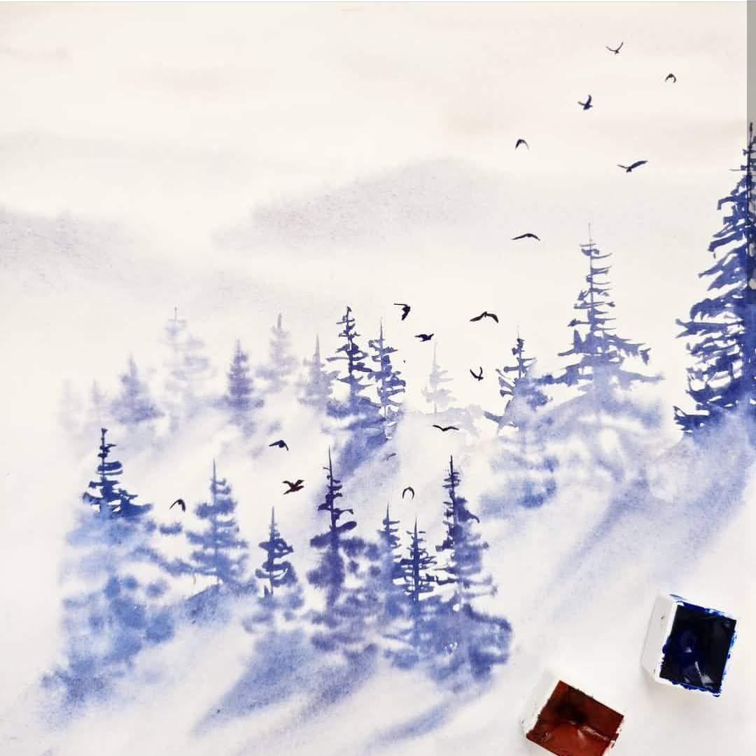 Never Stop Learning, Painting with Trupti Karjinni, Artist Spotlight for Color Crush Creative Kellee Wynne Studios 5.jpg