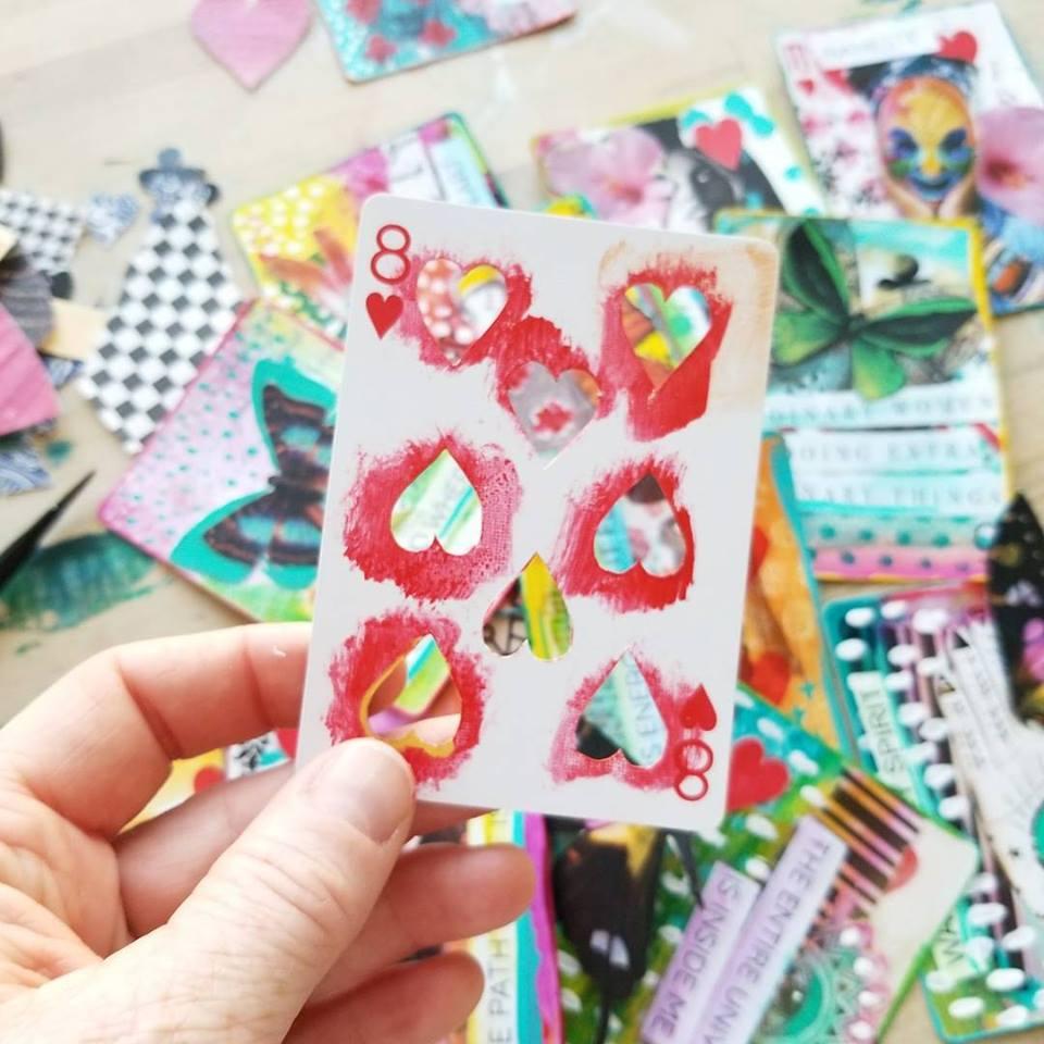 FortuneART Cards mixed media class by Kellee Wynne Studios 10.jpg