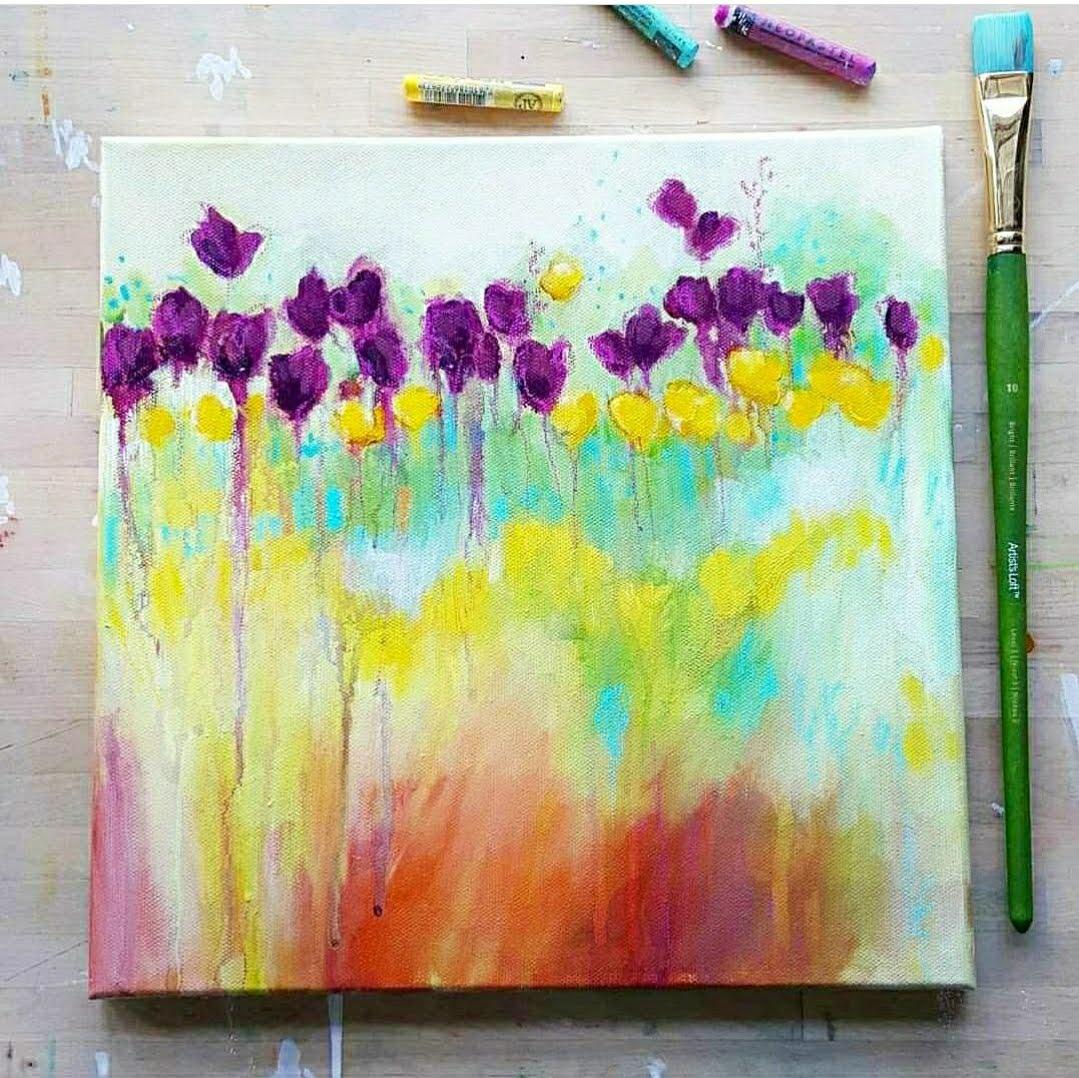 Kellee Wynne Studios True Colors Acrylic Painting  - Abstract Florals workshop 7.jpg