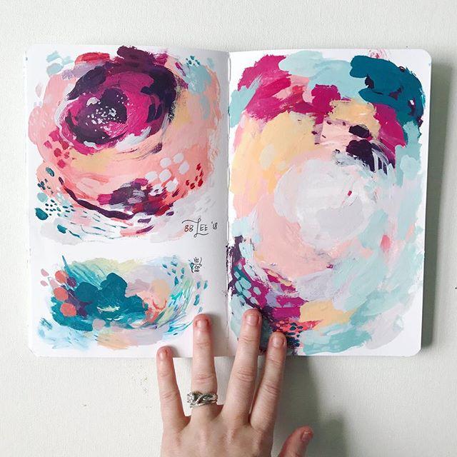 Becca Bastian Lee January 2019 Guest Artist for True Colors Art Program with Kellee Wynne Studios  (22).jpg