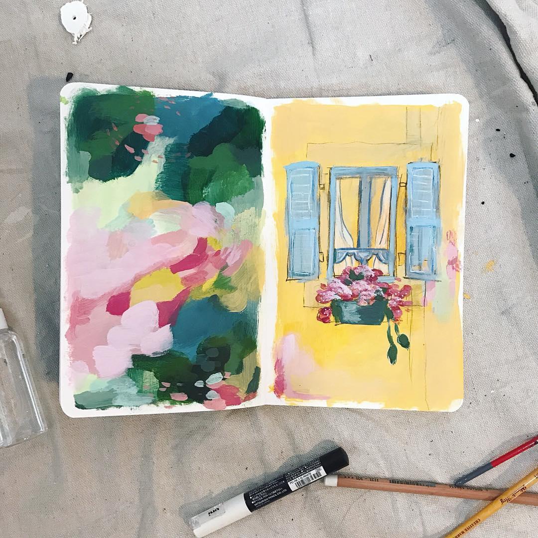 Becca Bastian Lee January 2019 Guest Artist for True Colors Art Program with Kellee Wynne Studios  (10).jpg