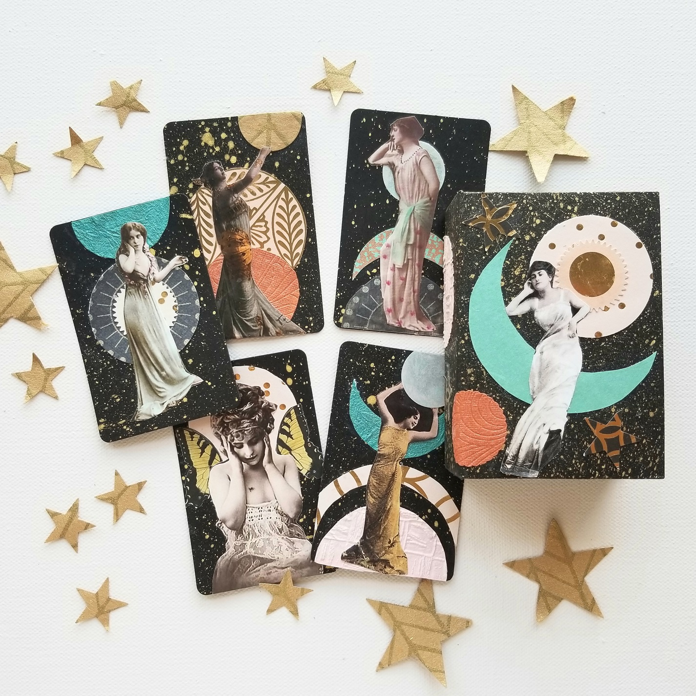 Galaxy Goddesses FortuneART Cards mixed media class by Kellee Wynne Studios (11)small.jpg