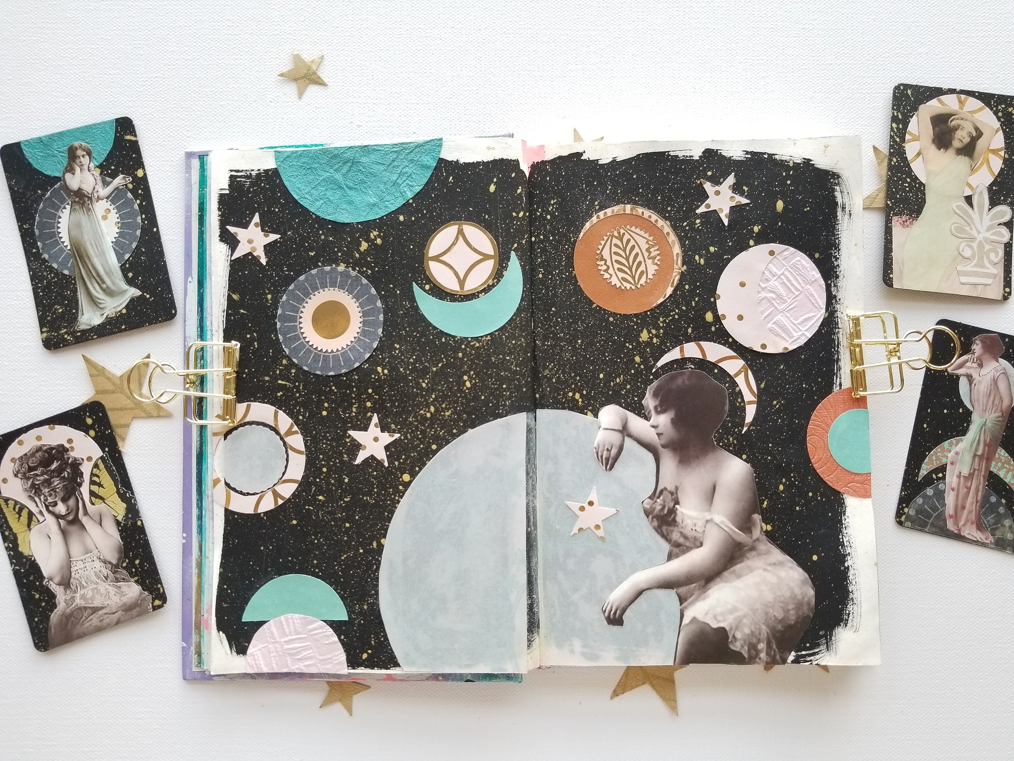 Galaxy Goddesses FortuneART Cards mixed media class by Kellee Wynne Studios (6) small.jpg