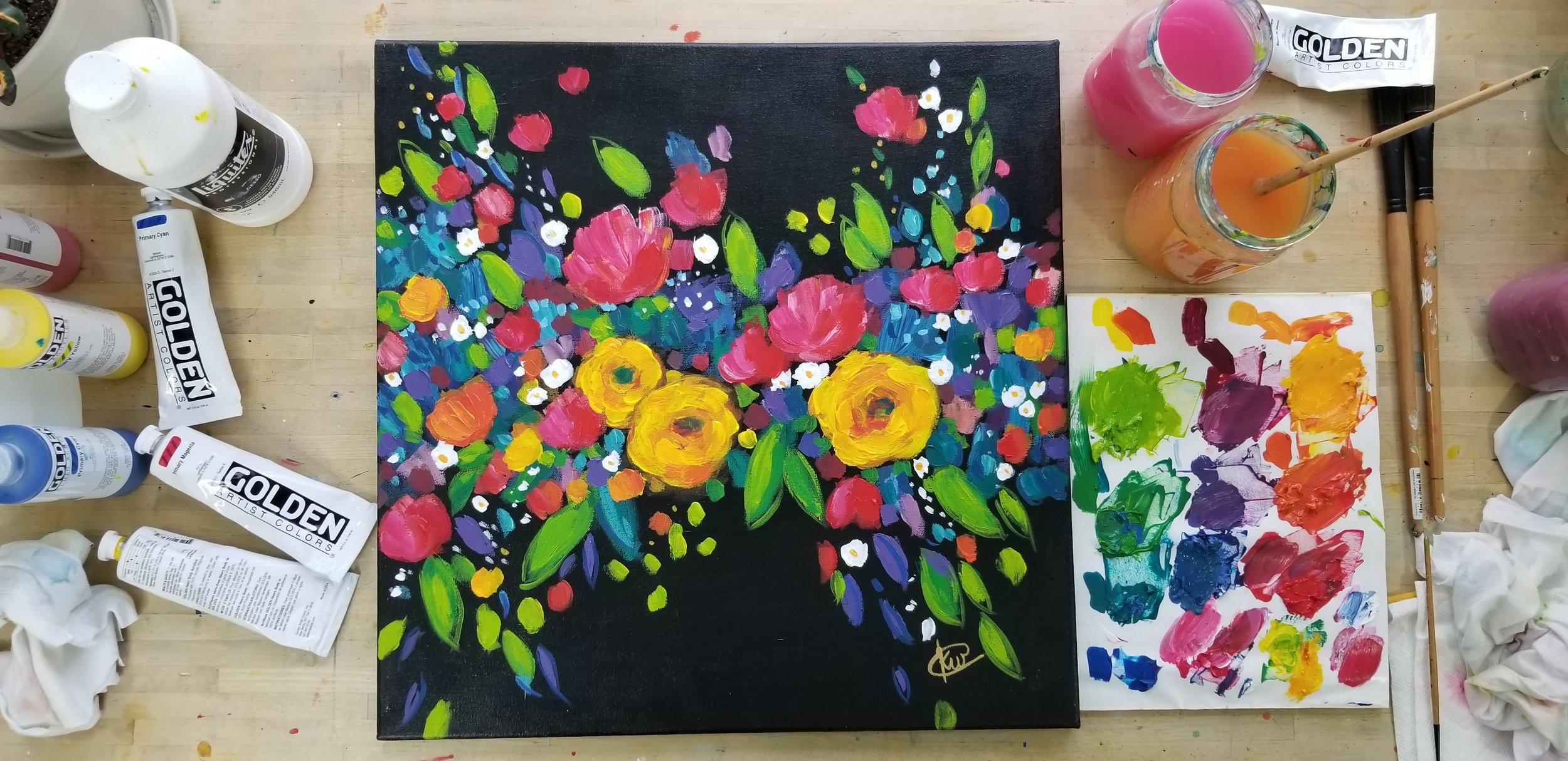 Kellee Wynne Studios True Colors Art Workshop Carbon Floral 3.jpg