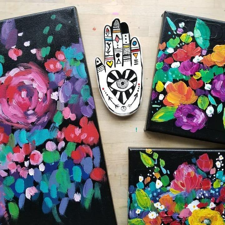 Kellee Wynne Studios True Colors Art Workshop Carbon Floral 4 (2).jpg