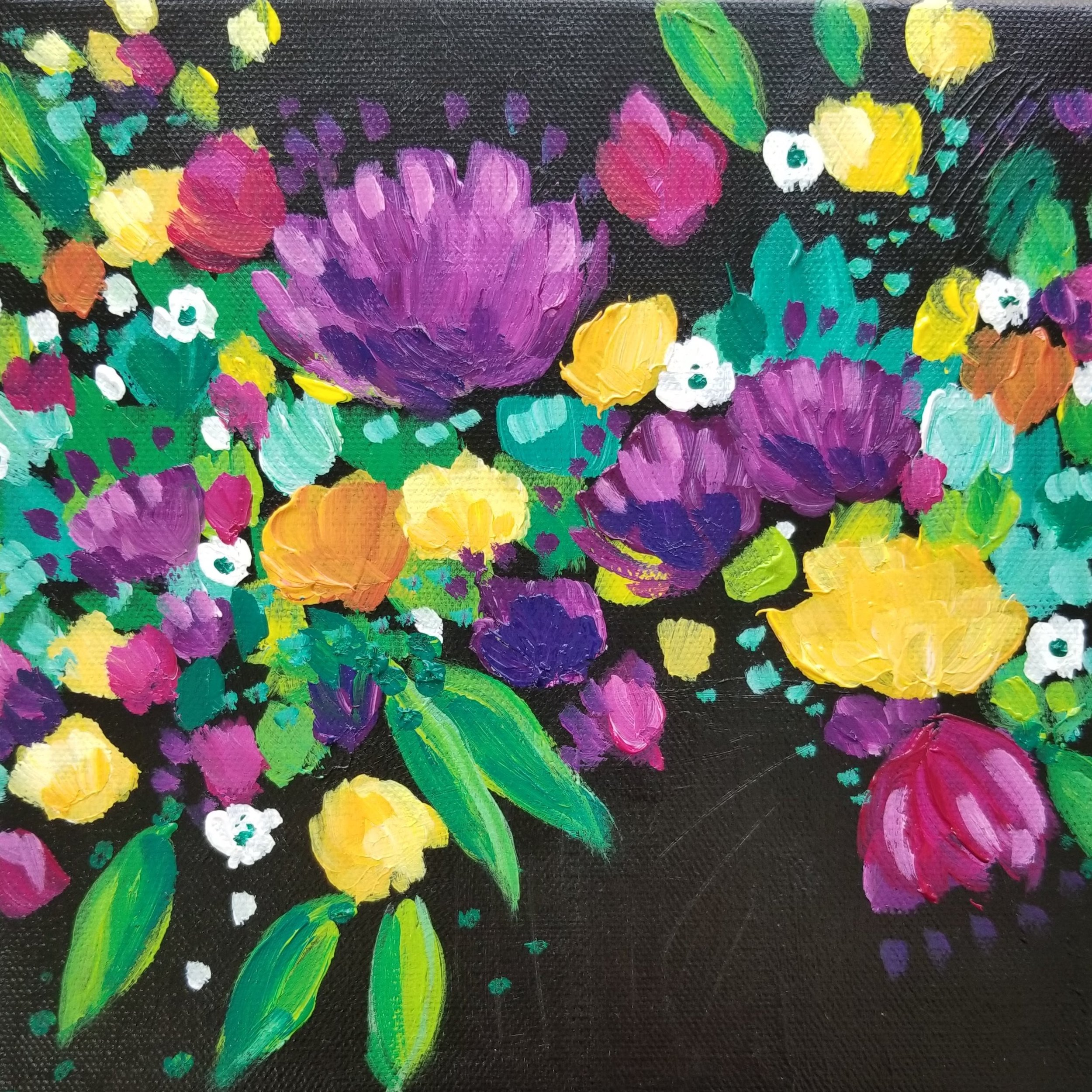 Kellee Wynne Studios True Colors Art Workshop Carbon Floral.jpg