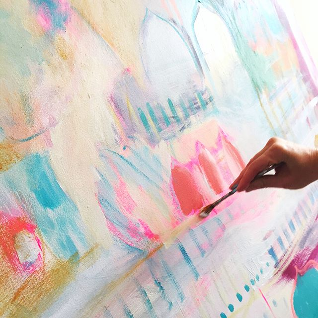 Listen to Your Intuition Painting with Carolyn Mackin for the True Colors Art Program with Kellee Wynne Studios (14).jpg