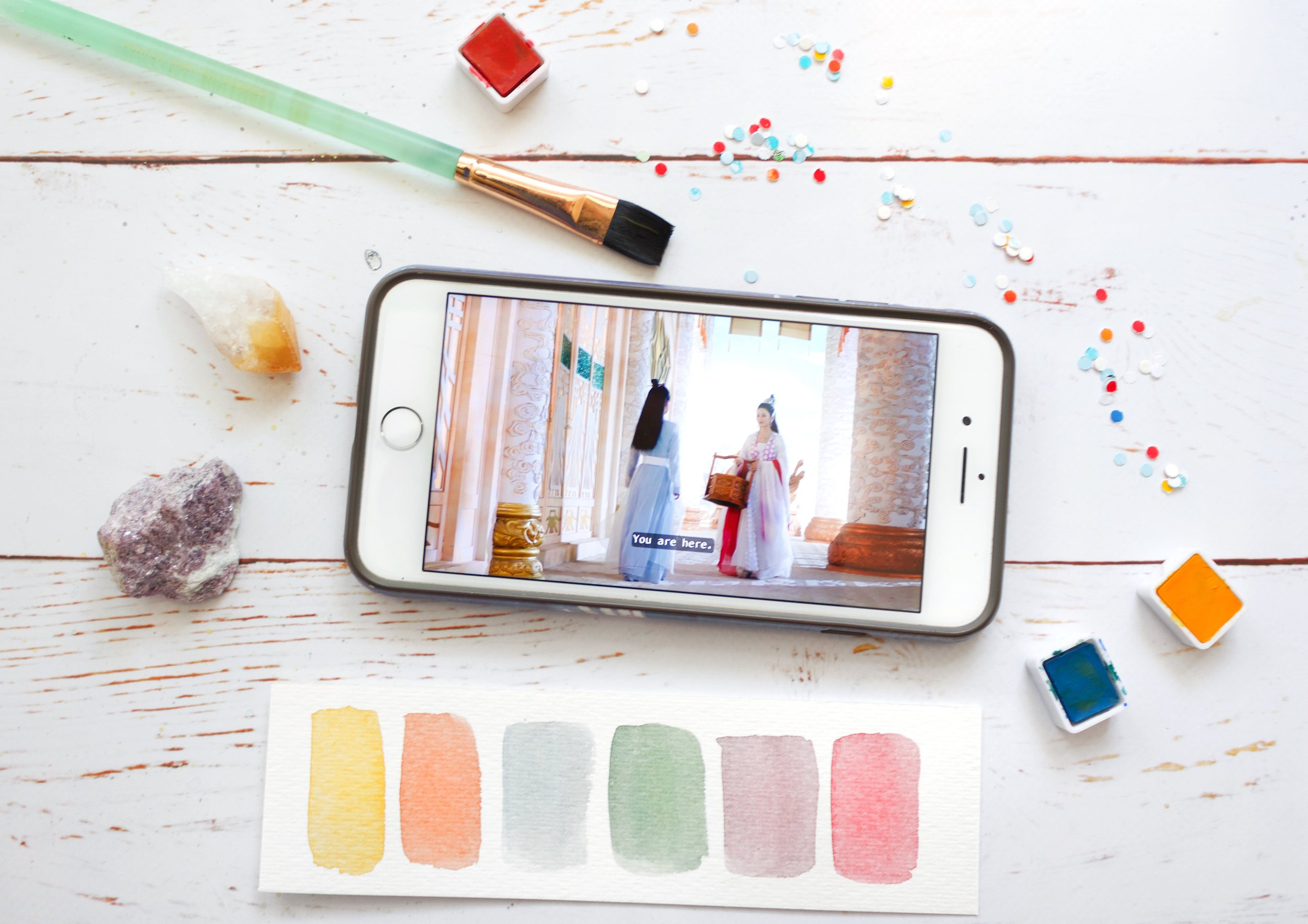 Finding Color Inspiration From Your Everyday Life using phone apps to create color palettes and art by Priscilla George for Experience True Colors art p (23).jpg