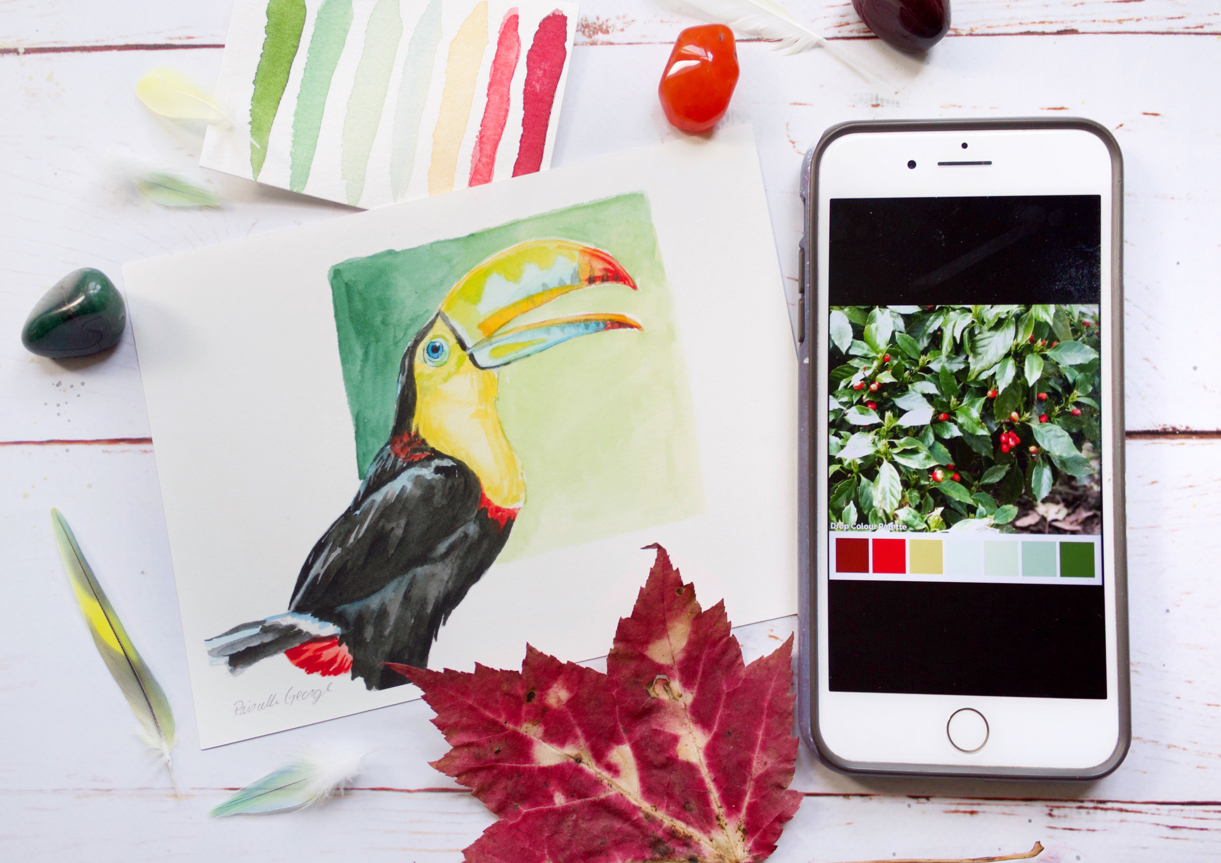 Finding Color Inspiration From Your Everyday Life using phone apps to create color palettes and art by Priscilla George for Experience True Colors art p (19).jpg