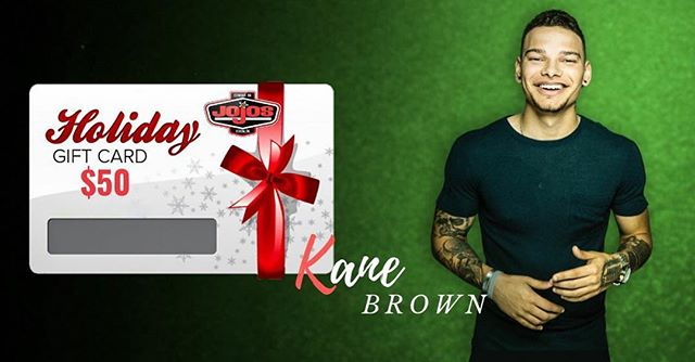 'Tis the season of giving! 🎁✨ We have an amazing giveaway on our Facebook page! $50 @jojostaphouse gift card & a pair of @kanebrown_music concert tickets for January 19th! Check out our Facebook post for all of the details & how to enter!!!