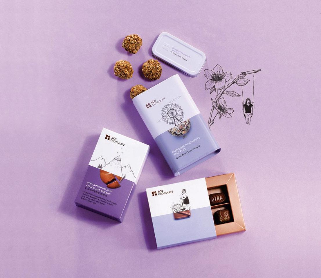 Client:roy chocolate  Brandung and art direction:  Ernesto Bijovsky