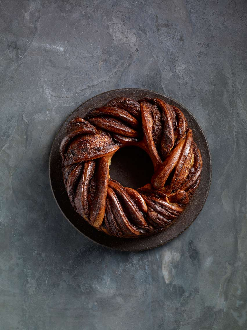 Roladin's baking recipe book  Styling:Amit Farber.